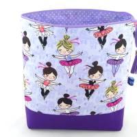 Kulturbeutel für Kinder, Windeltasche, Kinder-Waschtasche *Kleine Ballerinas* Bild 2
