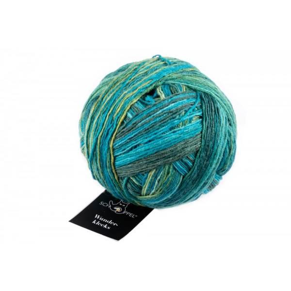Wunderklecks Sockenwolle von Schoppel in Färberlatein Bild 1