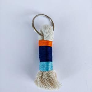 Schlüsselanhänger aus Baumwollseil Bild 6