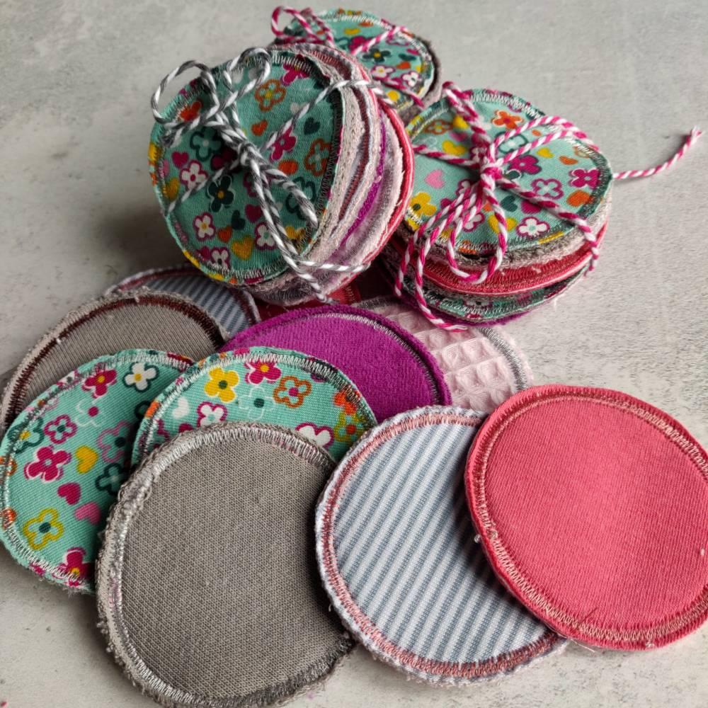 Abschminkpads - Kosmetikpads waschbar, wiederverwendbar, umweltfreundlich Bild 1