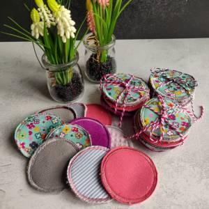 Abschminkpads - Kosmetikpads waschbar, wiederverwendbar, umweltfreundlich Bild 3