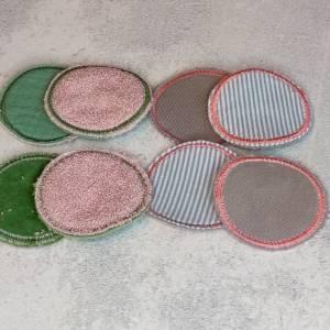 XXL Abschminkpads - Kosmetikpads waschbar, wiederverwendbar, umweltfreundlich Bild 6