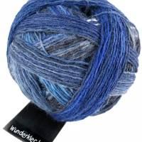 Wunderklecks Sockenwolle von Schoppel in Liquid Blue Bild 1