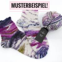 Wunderklecks Sockenwolle von Schoppel in Liquid Blue Bild 2