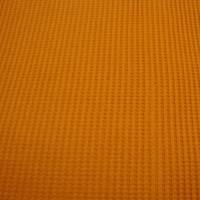 Waffeljersey-Stoff uni rostfarbe Öko-Tex Standard 100 - Meterware Glünz Stoffe Jerseystoffe Waffenmuster Karomuster Bild 2