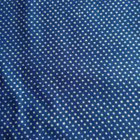 Patchworkstoff - gelbe Sternchen mit Kringel auf blauem Hintergrund,  SSI Studio Nr. 055 Bild 7