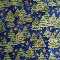 Patchworkstoff - gelbe Sternchen mit Kringel auf blauem Hintergrund,  SSI Studio Nr. 055 Bild 8