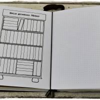 """Bücherregal """"Meine gelesenen Bücher"""" und Dots - zum Heft faltbar oder zum Lochen *SOFORT DOWNLOAD* Bild 3"""