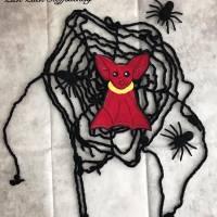 Schorsch, die kleine Fledermaus Applikationsvorlage Bild 5