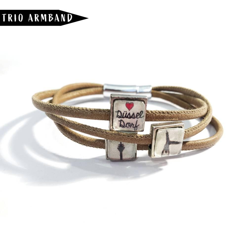 Düsseldorfer Trilogie Armband in Beige Bild 1