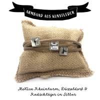 Düsseldorfer Trilogie Armband in Beige Bild 7