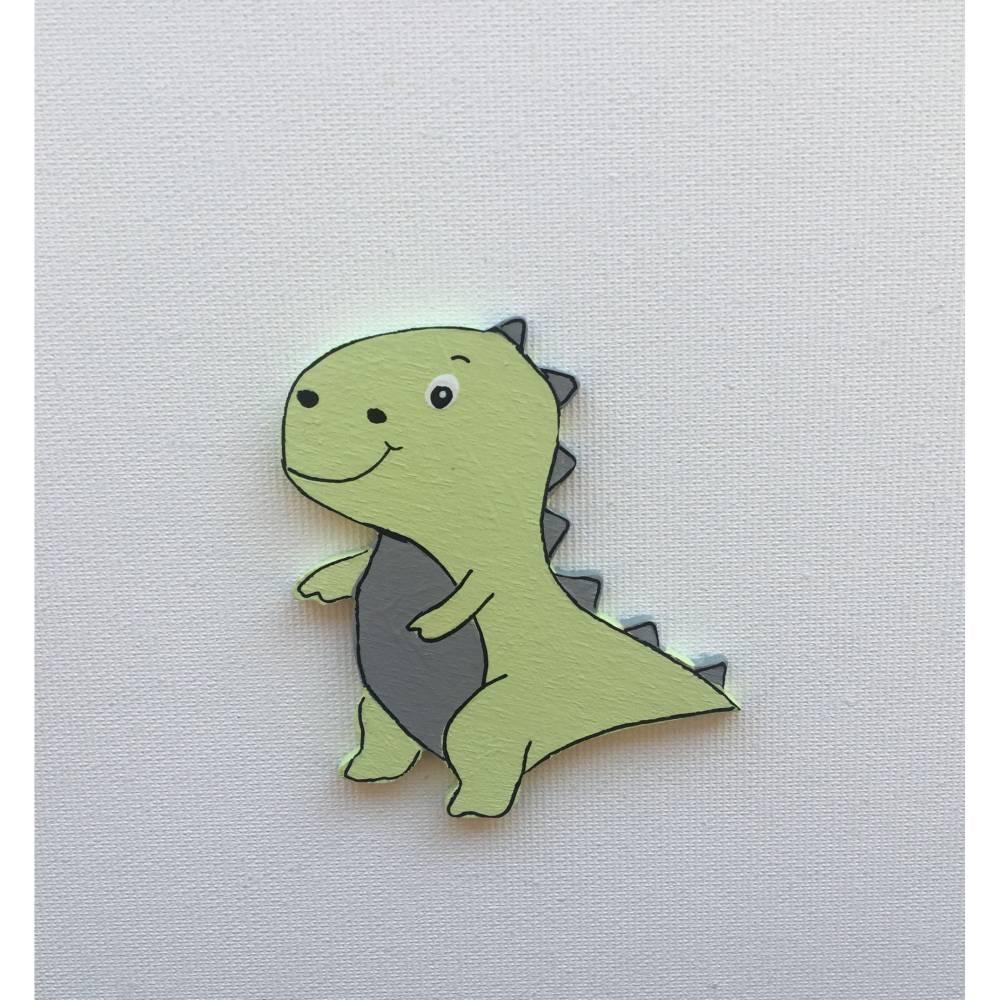 Deko Dino, passend zu den Buchstaben Bild 1