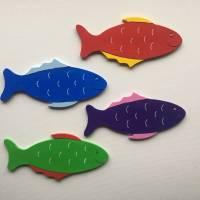 Deko Fische, passend zu den Buchstaben Bild 1