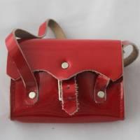 Vintage Tasche mit Inhalt für Puppen Ranzen Tornister Bild 3