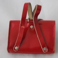 Vintage Tasche mit Inhalt für Puppen Ranzen Tornister Bild 4