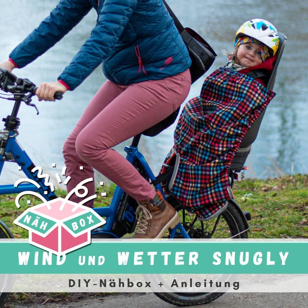 """DIY-NähBox für den Kindersitz Beinwärmer """"Snugly"""", Wind- und Wetterschutz für den Kindersitz ~ NEU Bild 1"""