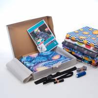 """DIY-NähBox für den Kindersitz Beinwärmer """"Snugly"""", Wind- und Wetterschutz für den Kindersitz ~ NEU Bild 2"""
