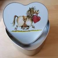 Geschenkbox, Leckerli-Box, Blechdose für Hunde-, Pferde-, Katzenfreunde Bild 4