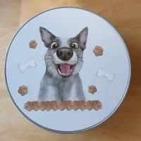 Geschenkbox, Leckerli-Box, Blechdose für Hunde-, Pferde-, Katzenfreunde Bild 5