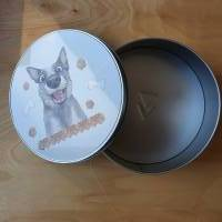 Geschenkbox, Leckerli-Box, Blechdose für Hunde-, Pferde-, Katzenfreunde Bild 6