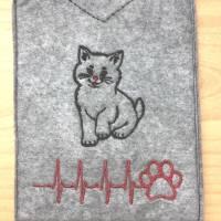 Impfpasshülle für Eure geliebte Katze. Bild 1