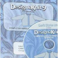 DesignaKnit 9 Handstrick, Software zum Entwerfen von Handstrick-Modellen mit Anleitungen sowie Mustern Bild 1