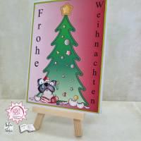 Gruß Karte Frohe Weihnachten  Bild 1