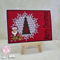 Gruß Karte merry Christmas  Bild 1