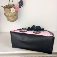"""Up-Cycling Shopper """"Mops"""" Einkaufstasche - shopping bag - Einkaufstüte - Tasche Bild 4"""