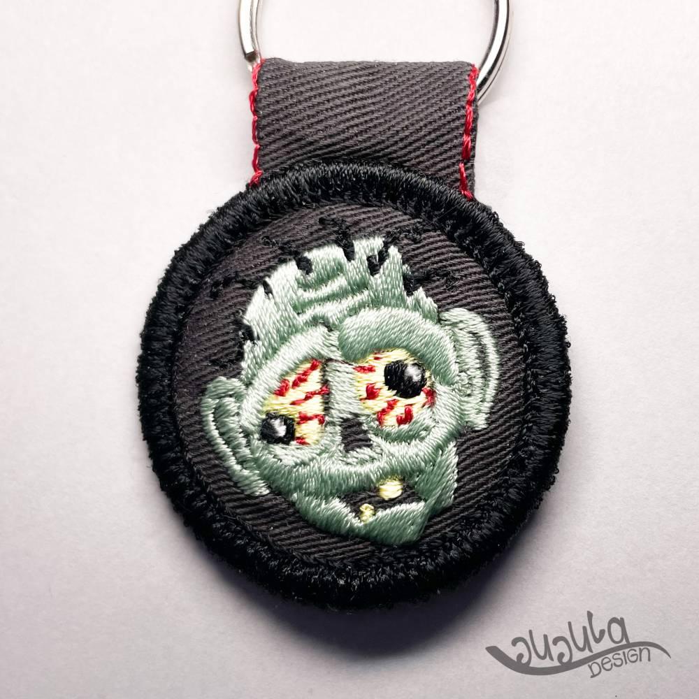 """Schlüsselanhänger """"Zombie"""" Bild 1"""