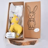 """Handgefertigte gehäkelte Puppe Kuh """"SINA"""" aus Baumwolle Bild 10"""