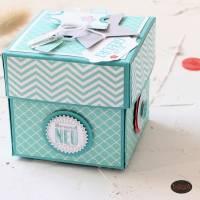 Explosionsbox zur Geburt eines Babys auch als Geldgeschenk  Bild 6