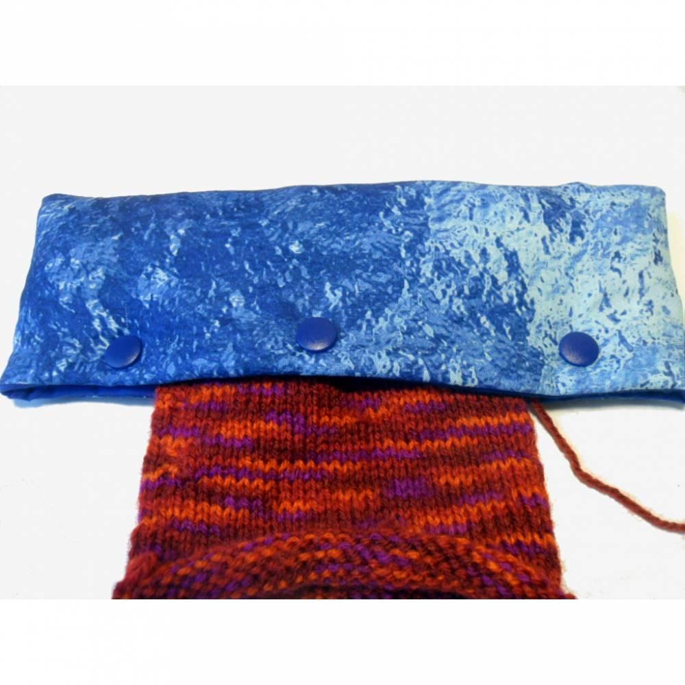 Nadelgarage, Tasche für Strickarbeiten, Nadelhalter Bild 1