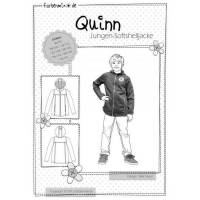 Quinn Softshelljacke Schnittmuster Farbenmix Papierbogen Bild 1