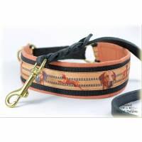 Halsband RHODESIAN RIDGEBACK mit Zugstopp, Hund, Hundehalsband, Martingale Bild 1