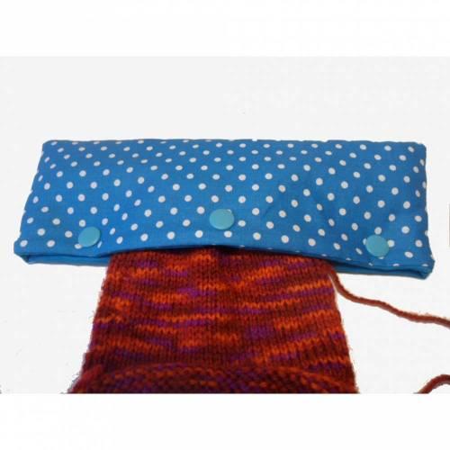 Nadelgarage, Tasche für Strickarbeiten, Nadelhalter