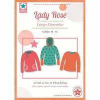 Lady Rose Damen Shirt Schnittmuster Farbenmix Papierschnittbogen Bild 1