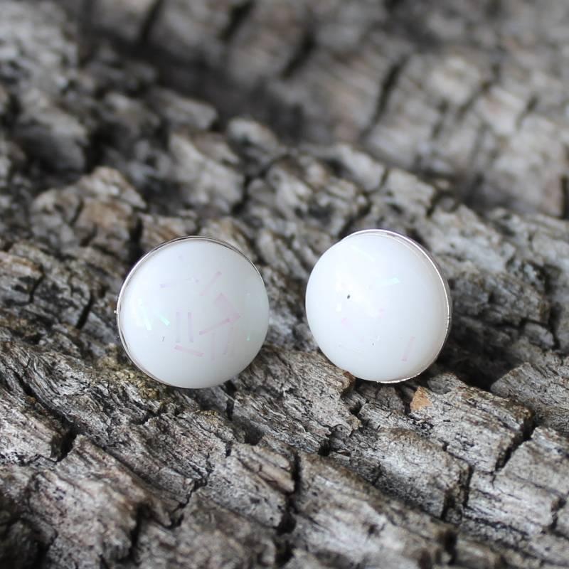 Muttermilch Ohrringe Stecker aus Muttermilch und Silber 925 1 Paar Bild 1