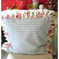 Kissenbezug Blumen, Gartenstuhlkissenbezug Bild 1