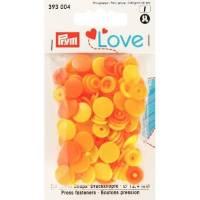 Druckknöpfe Color Snaps 12,4 mm in Zitrone Sonnenb Bild 1