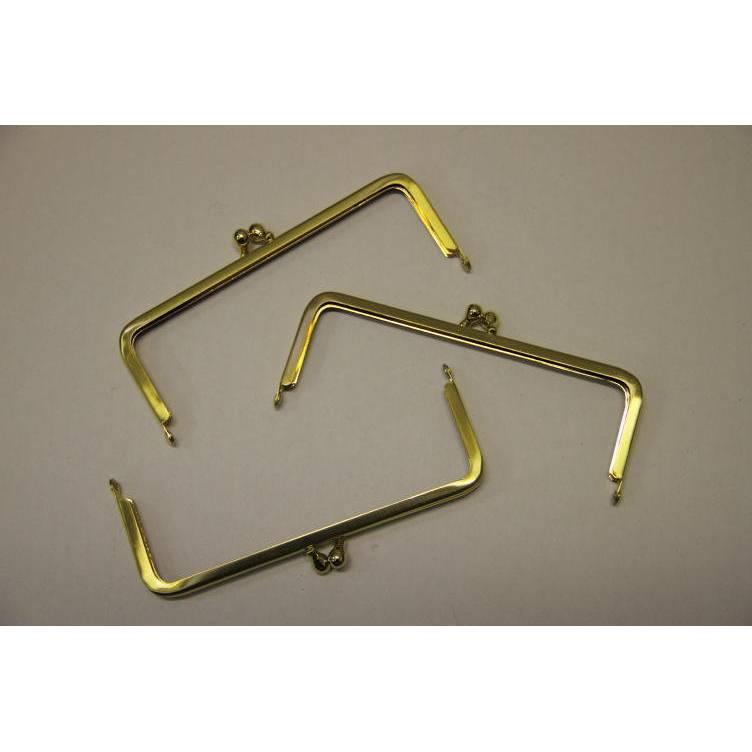 3 Taschenbügel #86/A4 13cm MATT-GOLD Sonderangebot Bild 1