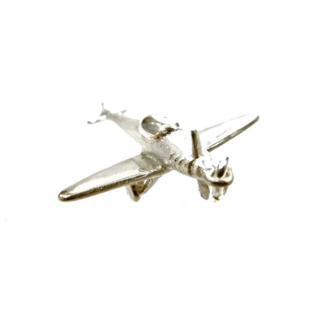 Flugzeug Anhänger Silber 925 Cessna Flieger Modellbau Fligen Bild 1
