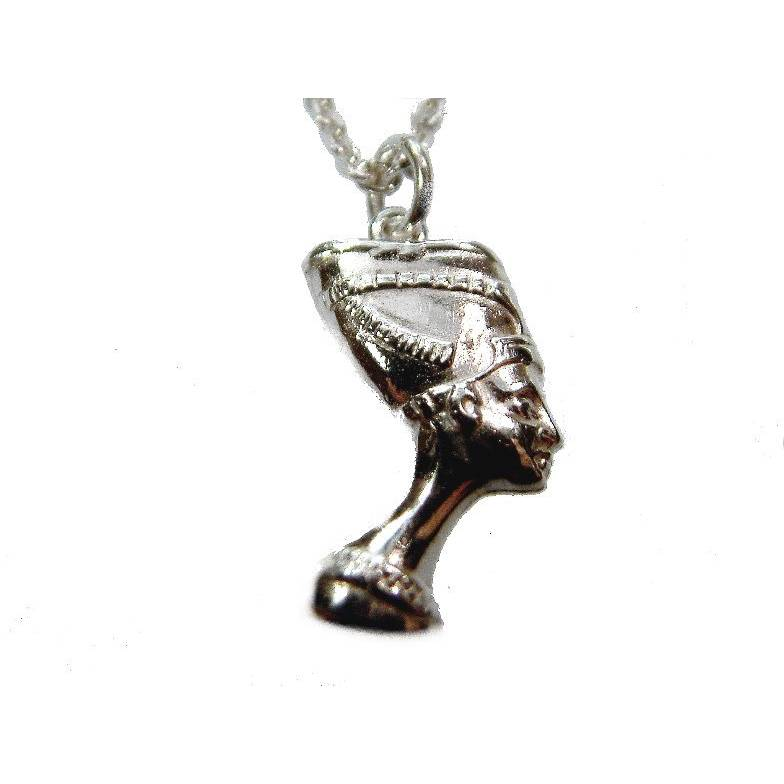 Anhänger Nofretete Silber 925 Ägypten Silberanhänger Götter Mystik Bild 1