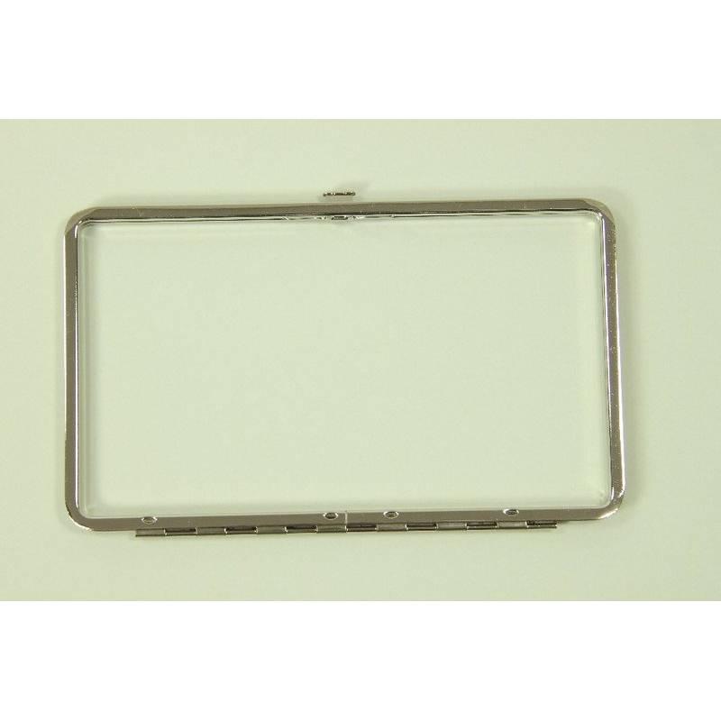 Metallrahmen Etui #7000 18 cm nickel Kosmetiketui Bild 1