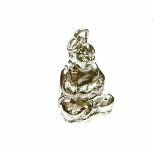 Buddha Anhänger 925 Silber Grosser Kettenanhänger Schmuck Budismus