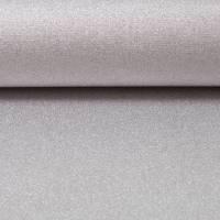 Beschichtete Baumwolle Stoff  Glitzer silber  Zuschnitt 50 x 70 cm Bild 1