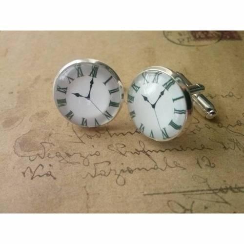 Manschettenknöpfe -Uhr-
