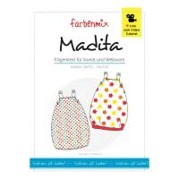 Madita neu Wendekleid Schnittmuster Farbenmix Papierschnittbogen Bild 1