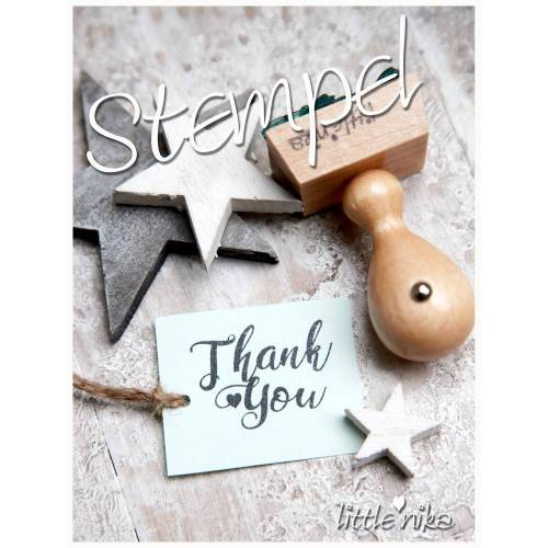 Stempel Thank you *sweet*