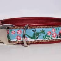 Hundehalsband »Dornröschen« mit echtem Leder unterlegt aus der Halsbandmanufaktur von dogs & paw Bild 3
